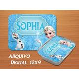 Rotulo Marmitinha Frozen Digital Personalizado