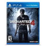 Juego Uncharted 4 A Thiefs End Para Ps4 Nuevo Original