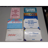 Manual Do Proprietario Siena Antigo Completo Usado Semi Novo