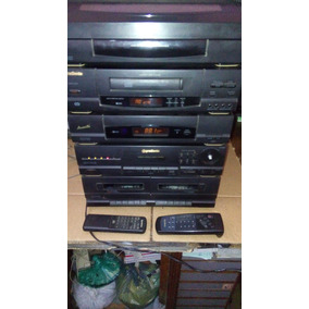 Cojunto 4 X1 Gradiente Avant At-70 Cd-player + T.disco Funci