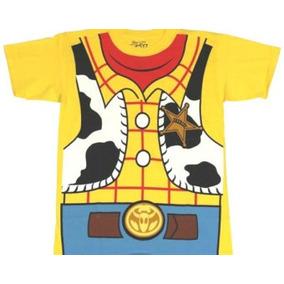 Camisa Blusa Infantil Wood Toy Story Cowboy Menino