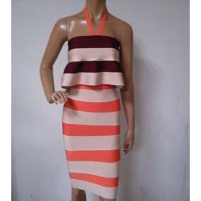 Vestido De Fiesta Spandex Modela Tu Cuerpo Reduce 5cm