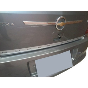Filete Adesivo Aço Escovado Porta Mala Astra Hatch 03 05 11