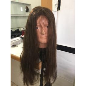 Protese Capilar De Silicone Feminina Cabeça Inteira