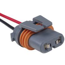 Chicote Conector Plug Soquete Farol Baixo S-10 Blazer Silver