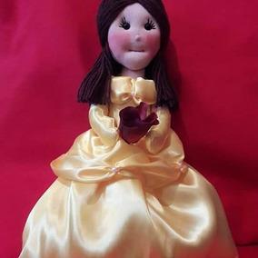 Boneca De Pano Princesa Bela
