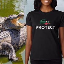 Camiseta Feminina Ecológica Protect - Lacoste - Preservação