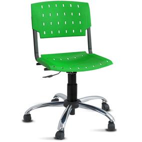 Cadeira Sigma Brasil Premium Verde Plástica