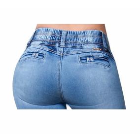 - Jeans Fergino De Mezclilla Color Bleach Szp381