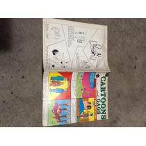 Revista Cartoons And Gaga 1974