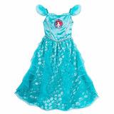 Vestido Disfraz Camison Princesa Ariel Sirenita Disny Store