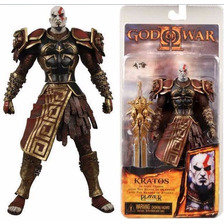 Kratos Dios De La Guerra Figura De Acción