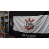 Bandeira Do Corinthians 1,30 Altura X 2,00 Comprimento