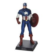 Capitão América Figurine Eaglemoss Coleção Miniaturas Marvel