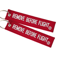 2 Llaveros  Remove Before Flight ® Combo