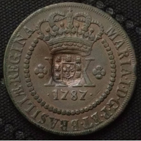 Moeda Brasil -xx- Réis 1787 ---628