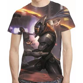 Camisa Game League Of Legends Camiseta Projeto Master Yi