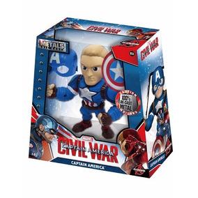 Capitan America Civil War De Metal Jada, Nuevo Envío Gratis