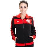 Jaqueta Blusa Flamengo Feminina adidas Original 2014 Tam M