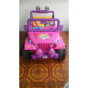 Jeep Barbie Power Wheells
