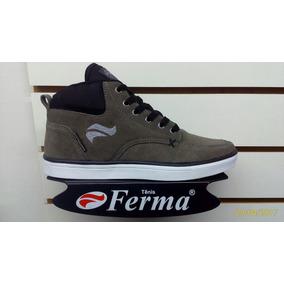 Tenis Ferma Skate Cano Alto Mod. A9929