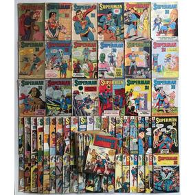 Coleção Completa Superman Bi 1° Serie N° 1 Ao 73 - Editora E