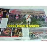 River Plate-ariel El Burrto Ortega-despedida-nota Completa