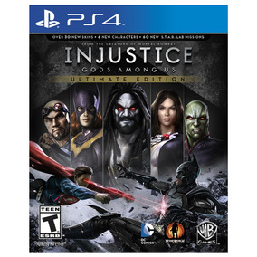 Juego Ps4 Sony Injustice Gods Amongs ( Físico)