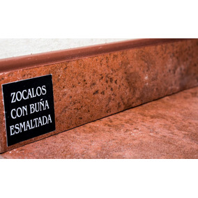 Zócalo Cerámica Roja Cortines Cotto 7,5x40