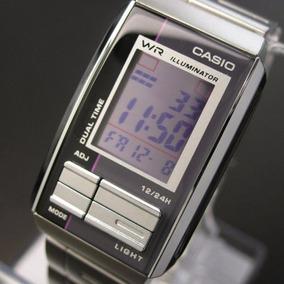 Relógio Casio Futurist Digital Bracelete Quadrado - Raro