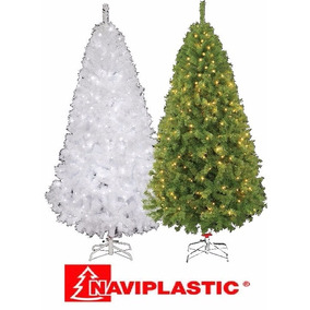 Arbol D Navidad Artificial Vermont Con Luces 2.20 Mts Navipl