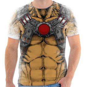 Camiseta Camisa Personaliza Bane Dc Batman Peitoral Fantasia
