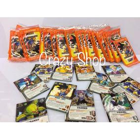 200 Lote Cards Dragon Ball = 50 Pacotes Fechados Atacado