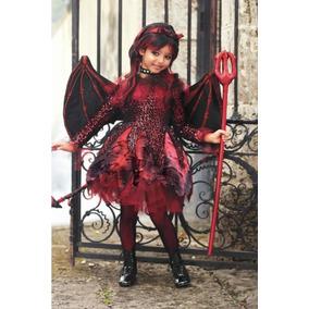 Disfraz Diablita Diablo Disfraces Halloween En Mercado Libre Mexico - Como-maquillar-a-una-diabla