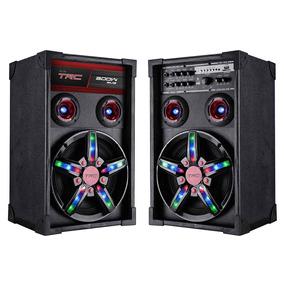 Caixa De Som Amplificadora Bluetooth 300w Bivolt - Trc 362
