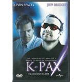 Dvd K-pax O Caminho Da Luz - Kevin Spacey - Original Lacrado