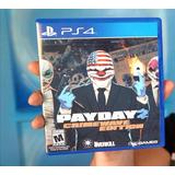 Payday 2 Crimewave Edition Nuevo Sellado