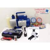 Kit Básico P Refrigeração E Ar Condicionado : Bomba De Vácuo