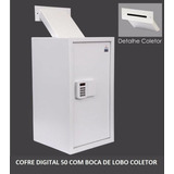 Cofre Digital 50 Com Boca De Lobo Coletor