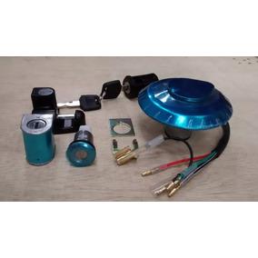 Kit Chave Ignição Cg 125 Titan 95 A 99 C/ Trava Capacete Dix