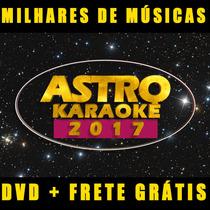 Astro Karaokê - Cante Em Casa / Dvd + Guia - Frete Gratis Cd
