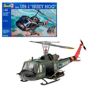 Plastimodelismo Revell Helicóptero Bell Uh-1 Huey Hog 1/48