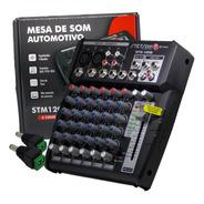 Mesa Som Automotivo E Pc Stetsom Stm1206 6 Canais Crossover