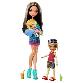 Monster High Family 3-pack Cleo Sandy Y Lux De Nile