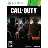 Call Of Duty Black Ops Collection 1, 2 Y 3. Xbox 360 Nuevo.