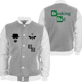 Casaco Moletom Breaking Bad Blusa Moleton Serie College