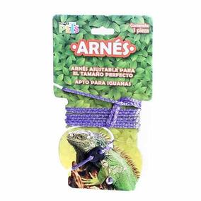 Arnes Correa Ajustable Especial Reptiles Iguana +kota