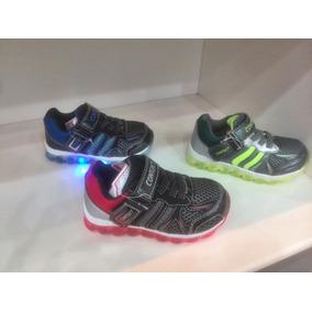 Botas Con Luces De Niño, Zapato Deportivo Con Luz