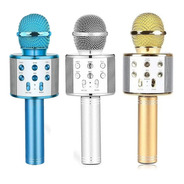 Micrófono Karaoke Bluetooth Portatil Niños 5w Parlante Color