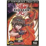 B0x Dvd Bakugan - 1ª Temporada Completa - Novo***